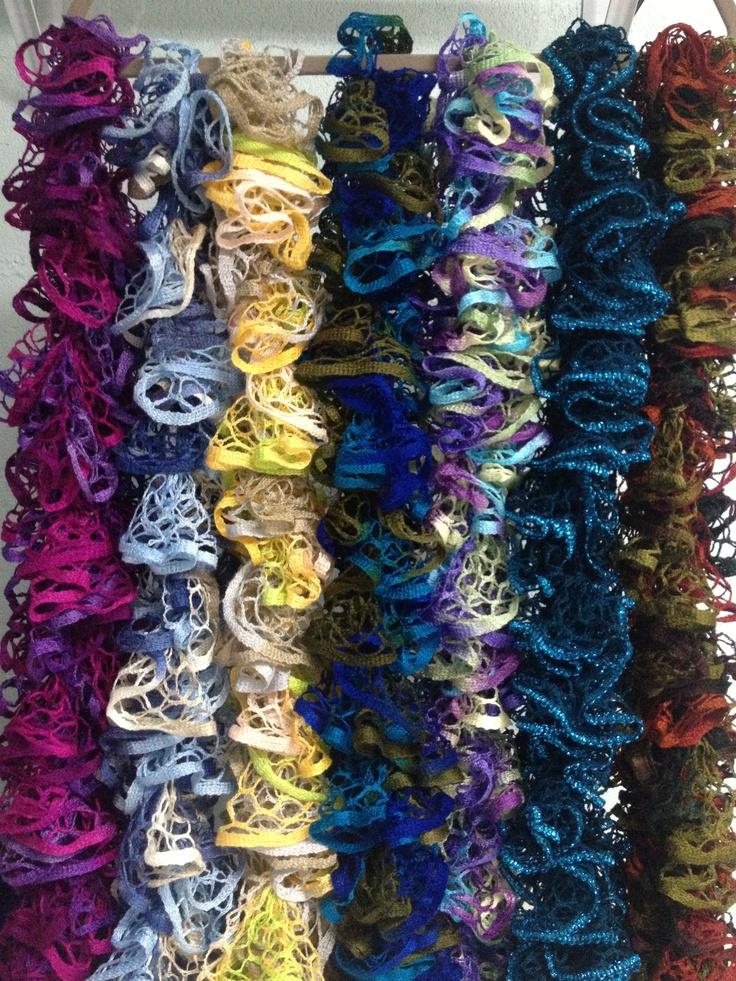 Excelente Crochet Patrón De Bufanda Sashay Foto - Ideas de Patrones ...