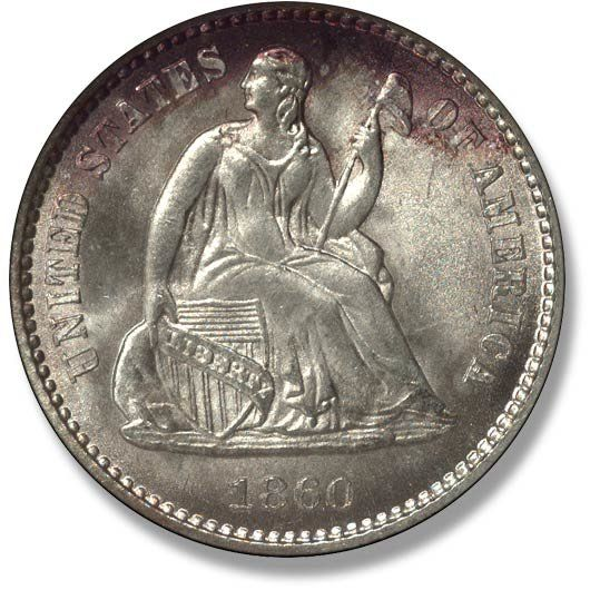 Liberty Seated with Legend. 1860-1873