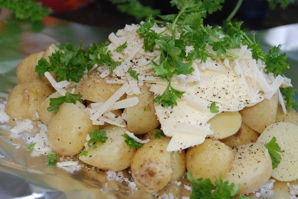 Smaskelismaskens: Potatis i foliepaket