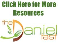 Food List | The Daniel Fast - recommended to try this by my Little