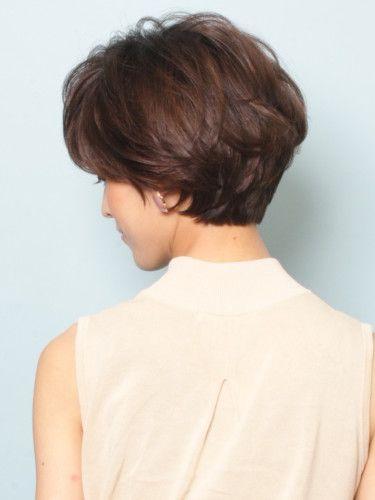 Classic short hair style