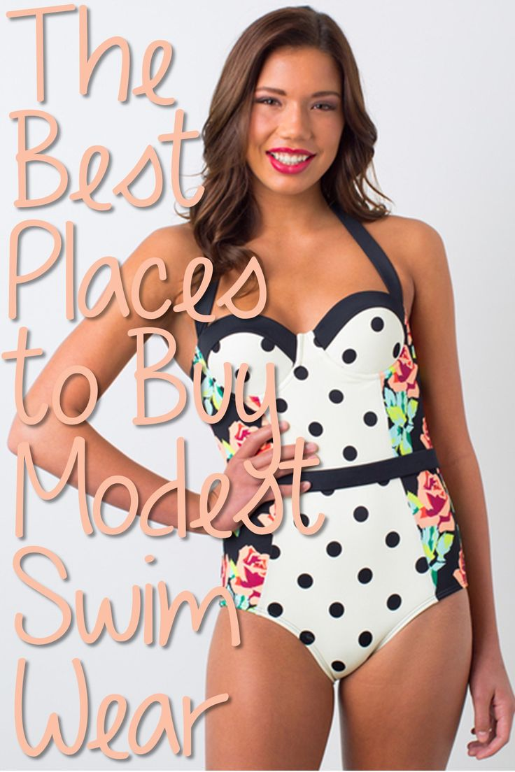 Sometimes finding a cute AND modest swim suit an feel a little impossible. Luckily, (as somewhat of a shopaholic) I have searched high and low for my favorite places to shop for cute, modest, affor...