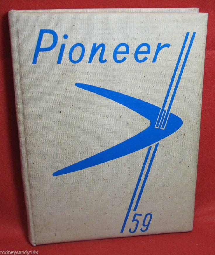 1959 Pioneer Lampete - Strasburg High School Lampeter Pennsylvania Year Book