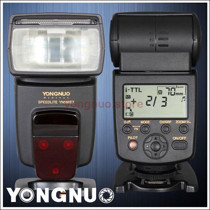 Yongnuo Flash Speedlite YN-568EX Wireless Slave TTL with HSS 1/8000 for Nikon #Yongnuo || x4