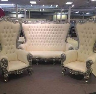 Set Kursi Sofa Mewah Princess X-12CH - CENDANA FURNITURE