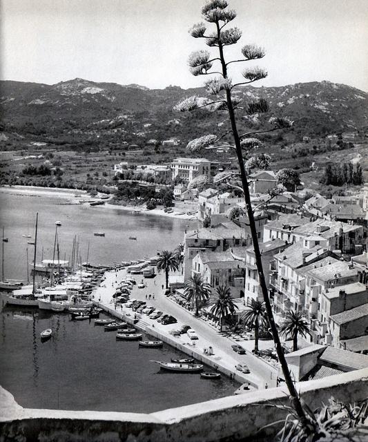 Calvi #corsica #retro #scene #1960