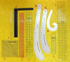 A Guide to Pattern Making Tools - Craftsy (Rulers)