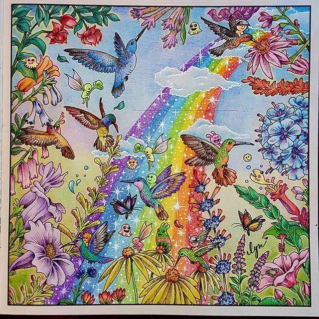 #สิงสาราสัตว์ #animorphia #kerbyrosanes #coloringbook #coloriage #art…