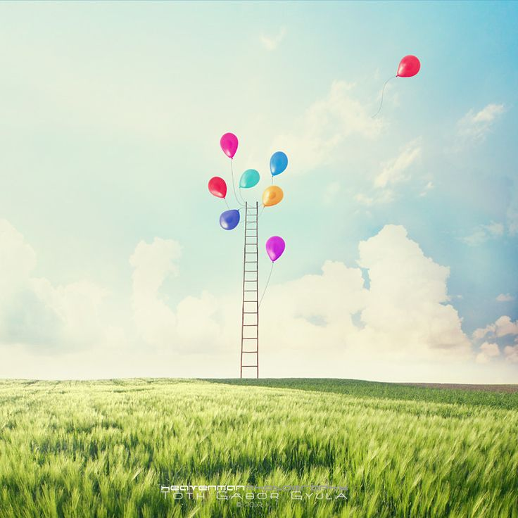 #balloons #colorful #freedom #nature
