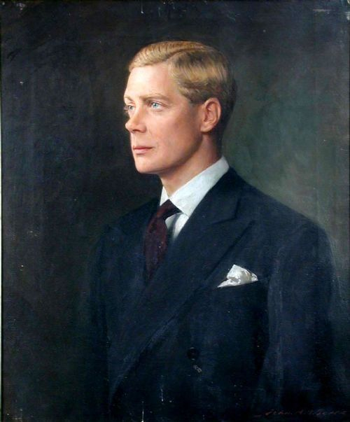 John Archibald Alexander Berrie  1887 1962   Portrait of Edward Prince of Wales, Later King Edward VIII and the Duke of Windsor,  1894 -1972