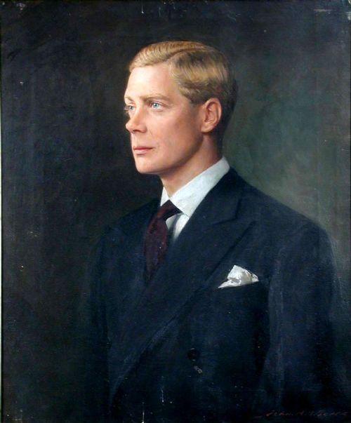 John Archibald Alexander Berrie  1887 1962   Portrait of Edward Prince of Wales, Later King Edward VIII and the Duke of Windsor,  1894 -1972