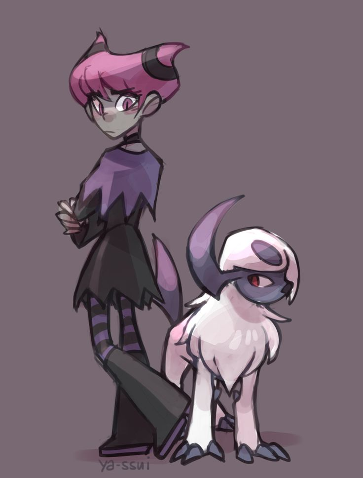 Jinx and absol
