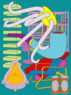 i like the simplicity of Michael Craig martins work the fine lines make the drawings really strong and easy to make out