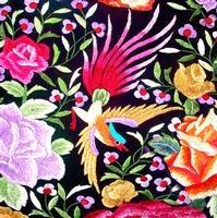 #235 Antique Fragment Sue's Bird Left   - Anna Chandler