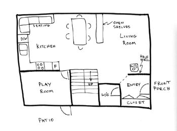Best 25 drawing house plans ideas on pinterest home for Floor plan sketch
