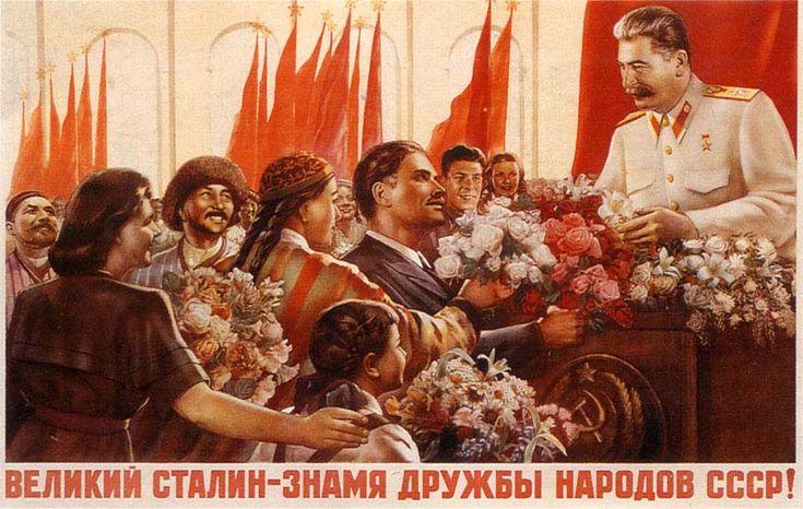 Affiche de propagande russe