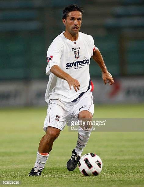 Antonio Galardo of FC Crotone during the Serie B match between Reggina and Crotone at Stadio Oreste Granillo on August 22 2010 in Reggio Calabria...