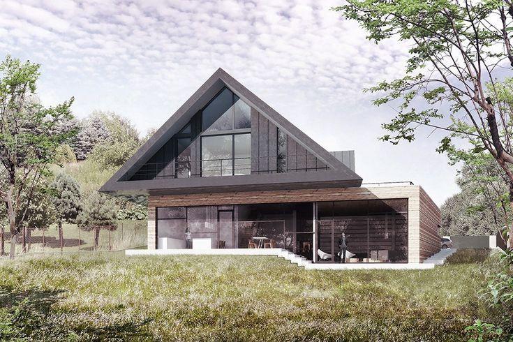 Ten projekt pracowni BXBstudio Bogusław Barnaś to ciekawy przykład inspiracji lokalną architekturą w nowoczesnym wydaniu.  Małopolska Chata Podcieniowa to dom dla czteroosobowej rodziny, który czerpie inspiracje z tradycyjnej, drewnianej architektury podcieniowej. Historyczne podcienia osłan