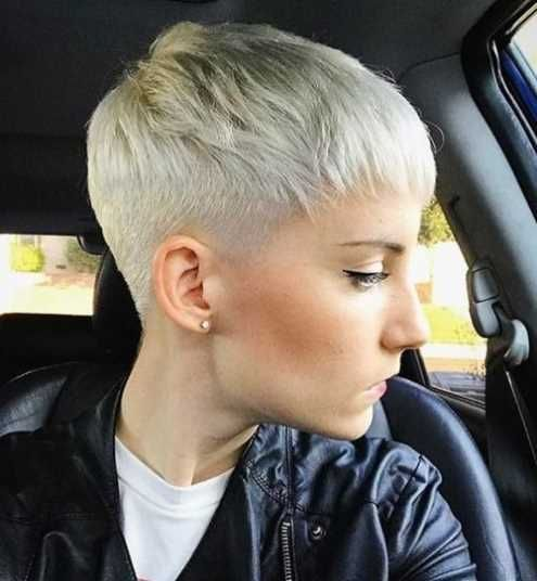 blond pixie frisuren