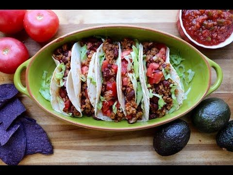 Easy and Cheap Tasty Tacos | Vegan Recipe by The Buddhist Chef | PETA