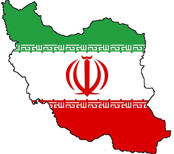 Irán vlajka