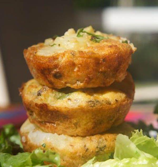 how to make potato cups frittata