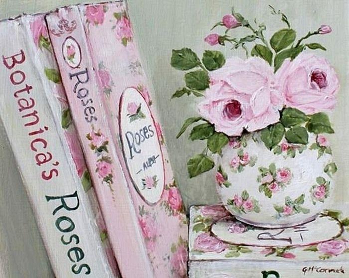 Мобильный LiveInternet Чашка чая, розы и нежность от Gail McCormack   ВалюшаПП - ВалюшаПП  