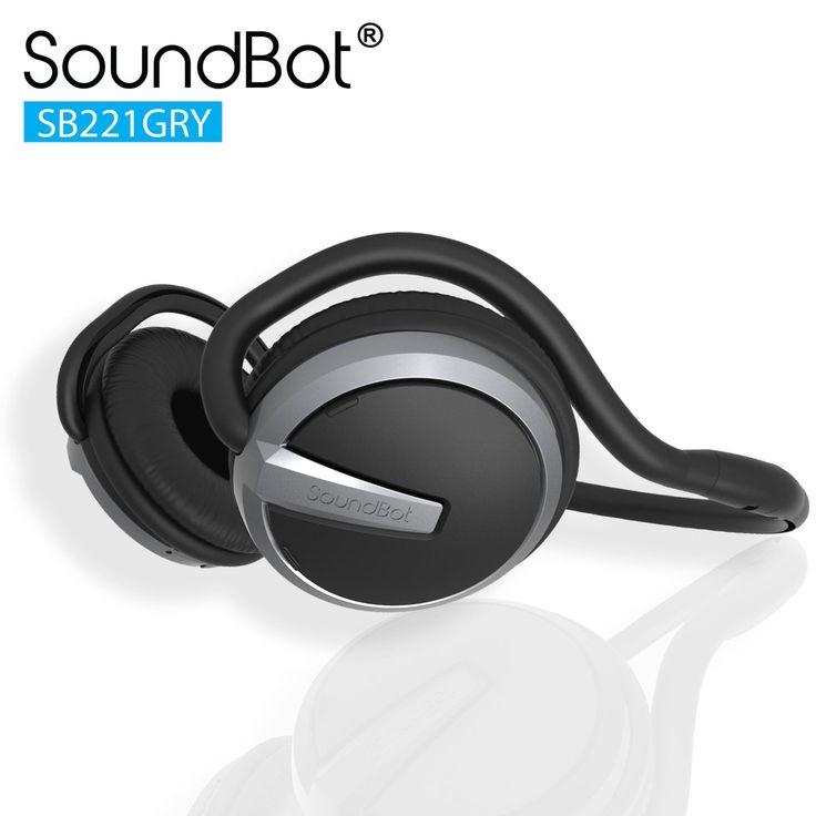 SoundBot® SB221 Bluetooth Headphone Wireless Headset