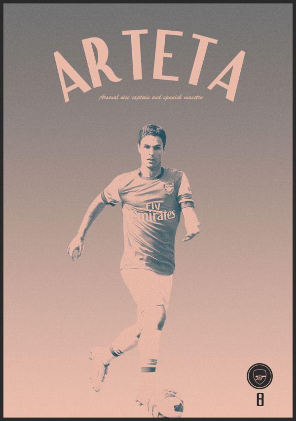 Football Poster designs by Joe Bargus, via Behance