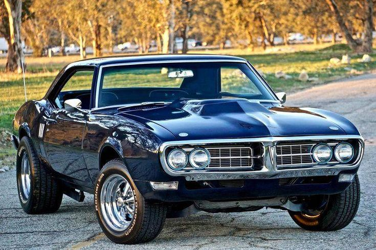 1968 Pontiac Firebird Coupé #classicmusclecars   – Cars are awesome!