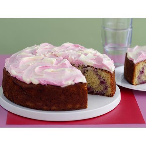 Raspberry swirl cake recipe - By Australian Women's Weekly, A classic teacake…