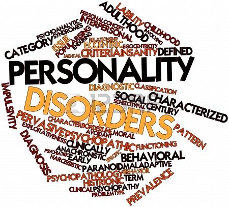 Abstract word cloud for Personality disorders. #Psychological #Disorders #hawaiirehab www.hawaiiislandrecovery.com