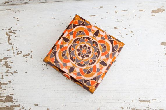 Wooden jewelry box Morocco // Home decor and jewelry by LekaArt, $63.00