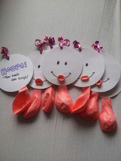 Idee voor: Presentje - bedankje - cadeautje voor de gasten van je kraamfeest jongetje meisje : Baby Shower Favors