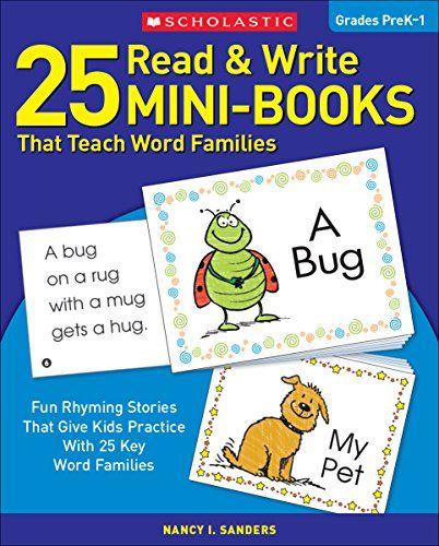 25 Read & Write Mini-Books That Teach Word Families: Fun ...