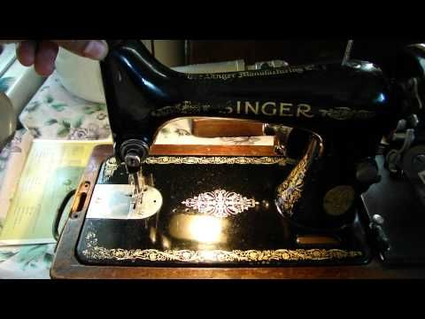 1925 singer sewing machine value