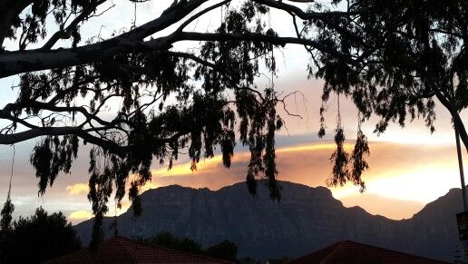 Sunset in the South of Cape Town