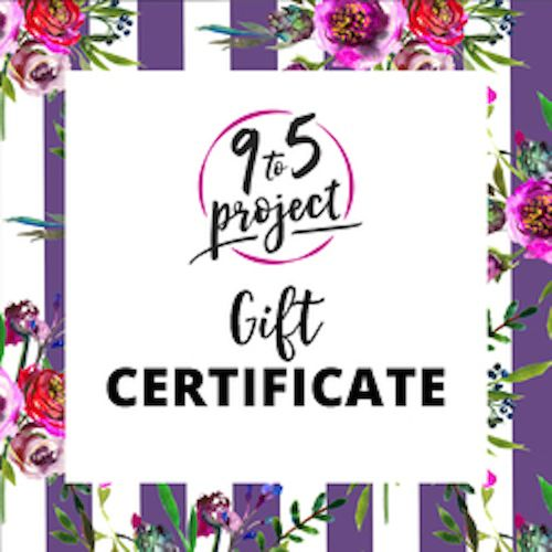 Still looking for a #gift to give or get? We just added gift certificates to our shop! They make the perfect present for anyone who is planning on making 2017 the year they start moving forward with their career goals!