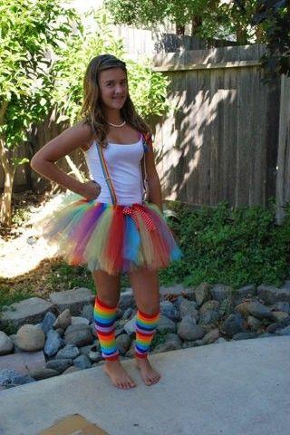 Clown Halloween Tutu Costume Set Teen Adult #Halloween #costume www.loveitsomuch.com