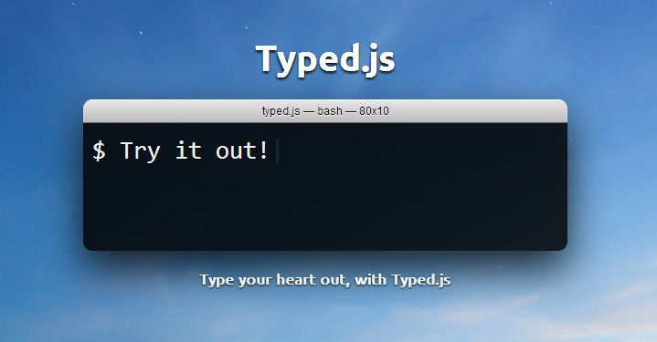 I recently found this jQuery plugin that allowed you to easily create a typing effect on your website. This plugin...