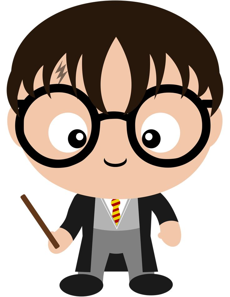 The one and only, Harry Potter. The world will ever be the same again. Check out all the other Harry Potter character clipart we've made in our new Etsy shop.