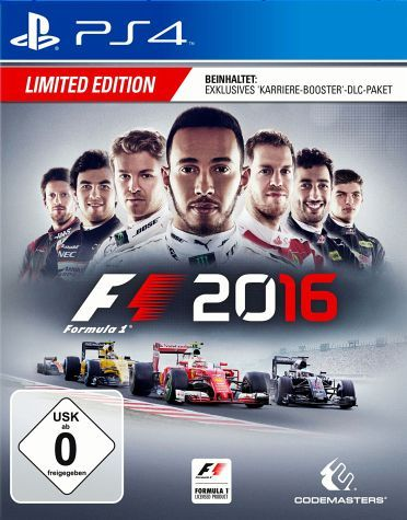 F1 2016 - Limited Edition (PlayStation 4)