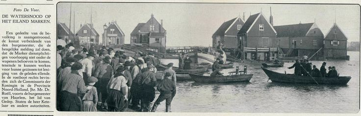 https://flic.kr/p/rn48hP | album De Grote Watersnood jan 1916   Marken  F
