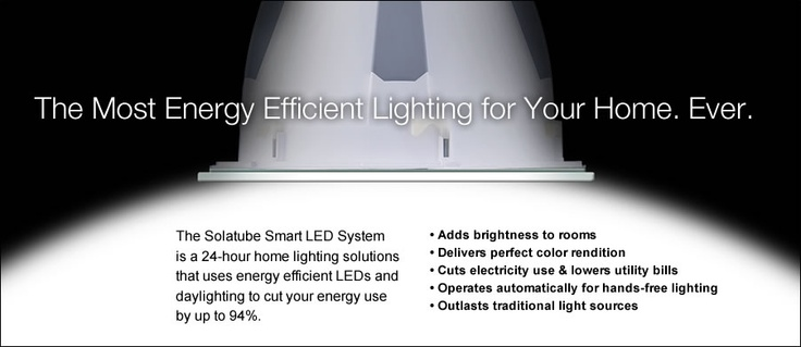 Solatube Daylighting System and Tubular Daylighting Devices for residential or commercial daylighting and sunlighting needs are the smart, green and environmentally friendly alternative to traditional skylights
