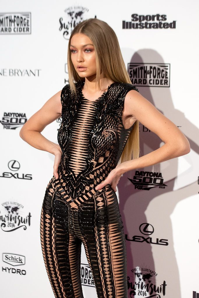 Gigi Hadid at Sports Illustrated Swimsuit Launch 2016 | POPSUGAR Celebrity