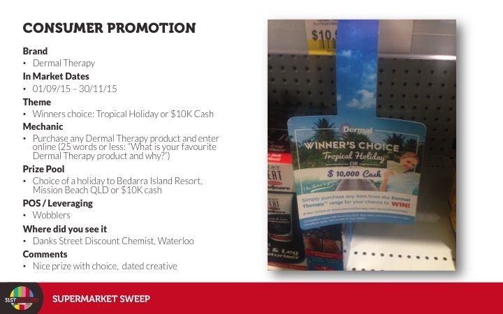 #pharmacy #independents #dermaltheraphy #promotion #cash #holiday #dec15