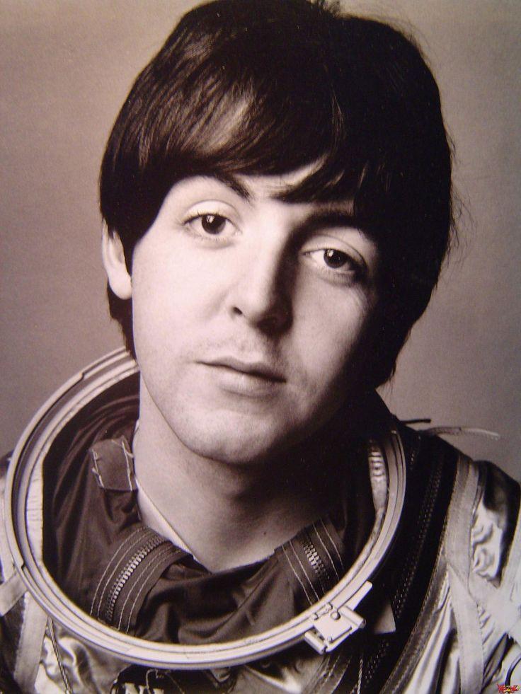 Astronaut Paul McCartney