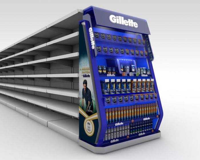 Gillette - POS by Pedro Alves at Coroflot.com