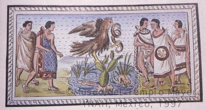 México, realidades y sueños: La fundación de Mexico-Tenochtitlan. Leyenda prehi...