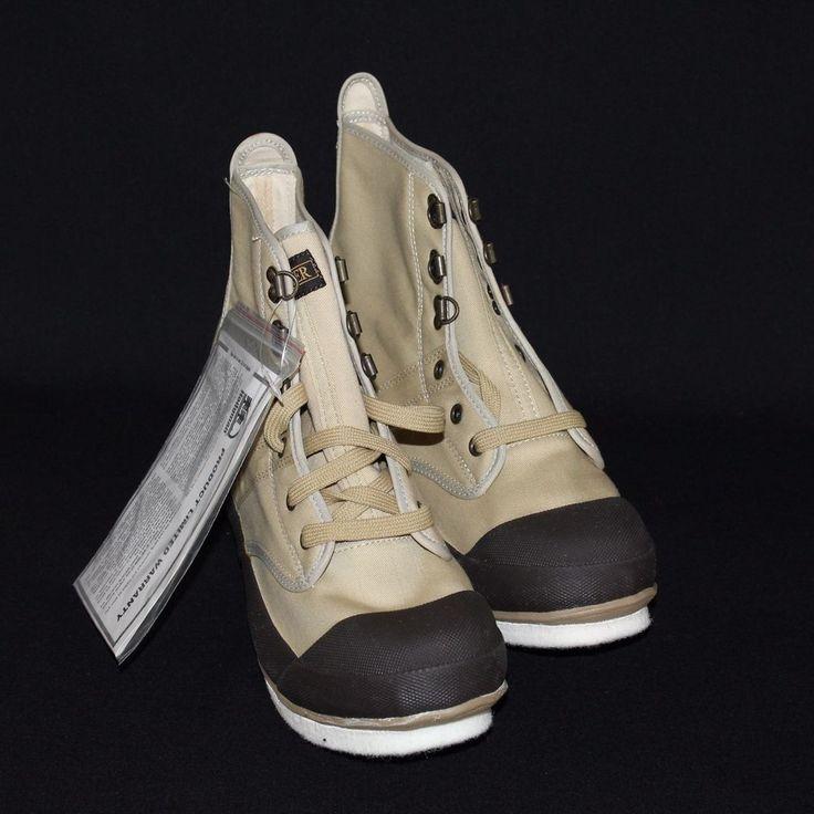 Hodgman Felt Sole Steel Shaft Wading Shoes Style 19210 Size 10 Fishing Boots NEW #Hodgman #WadingBoots #FishingBoots